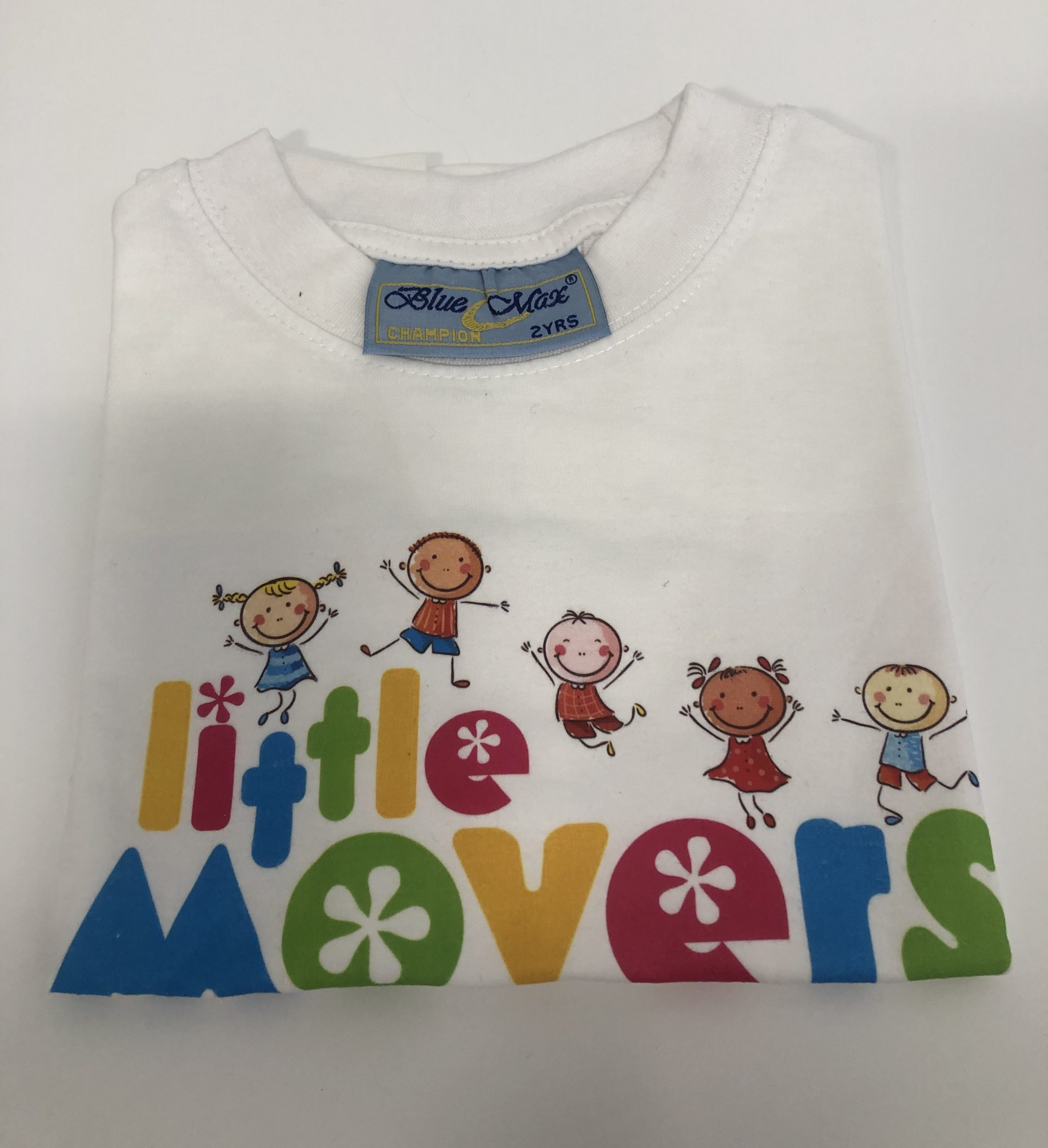 Little Movers White T-Shirt