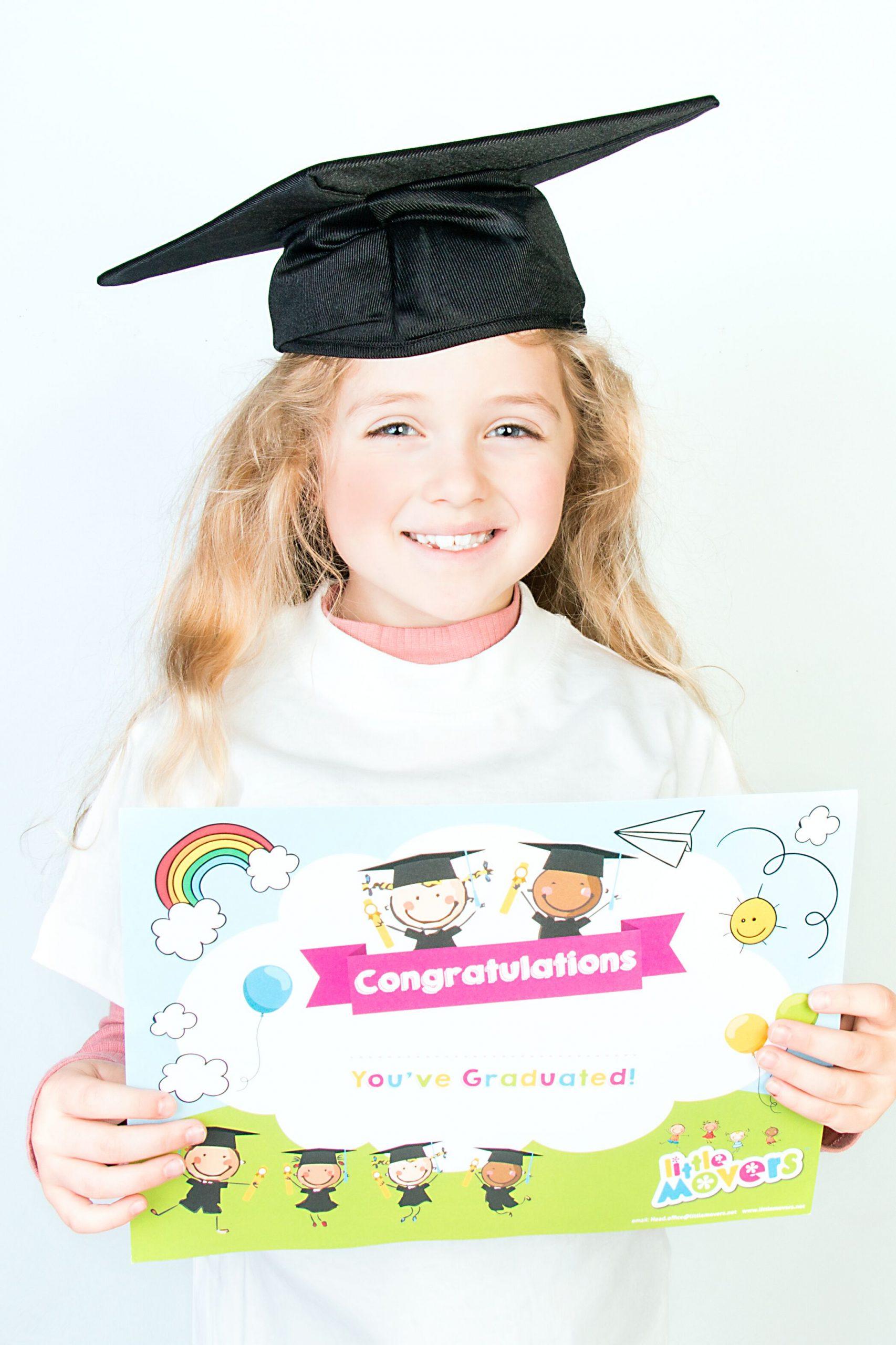 Little Movers Graduation Certificates (50)