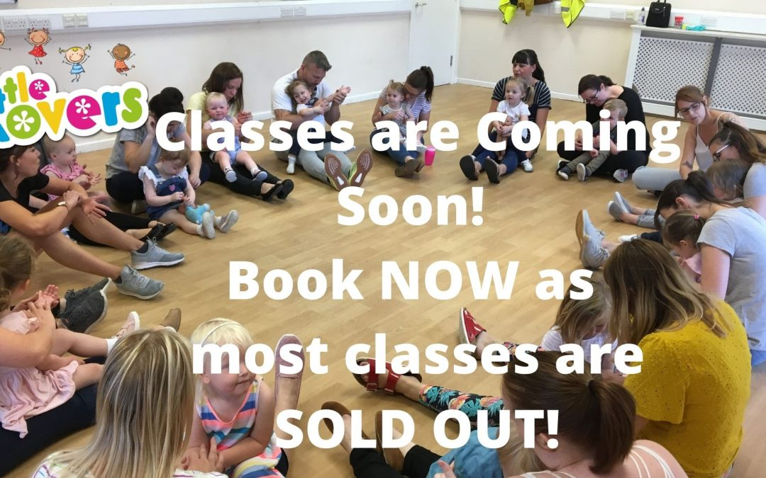 Classes are COMING SOON!