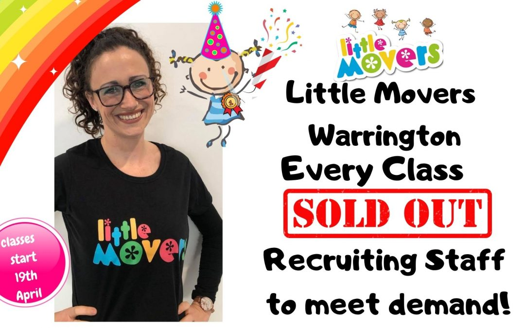 Classes all SOLD OUT in the North West!