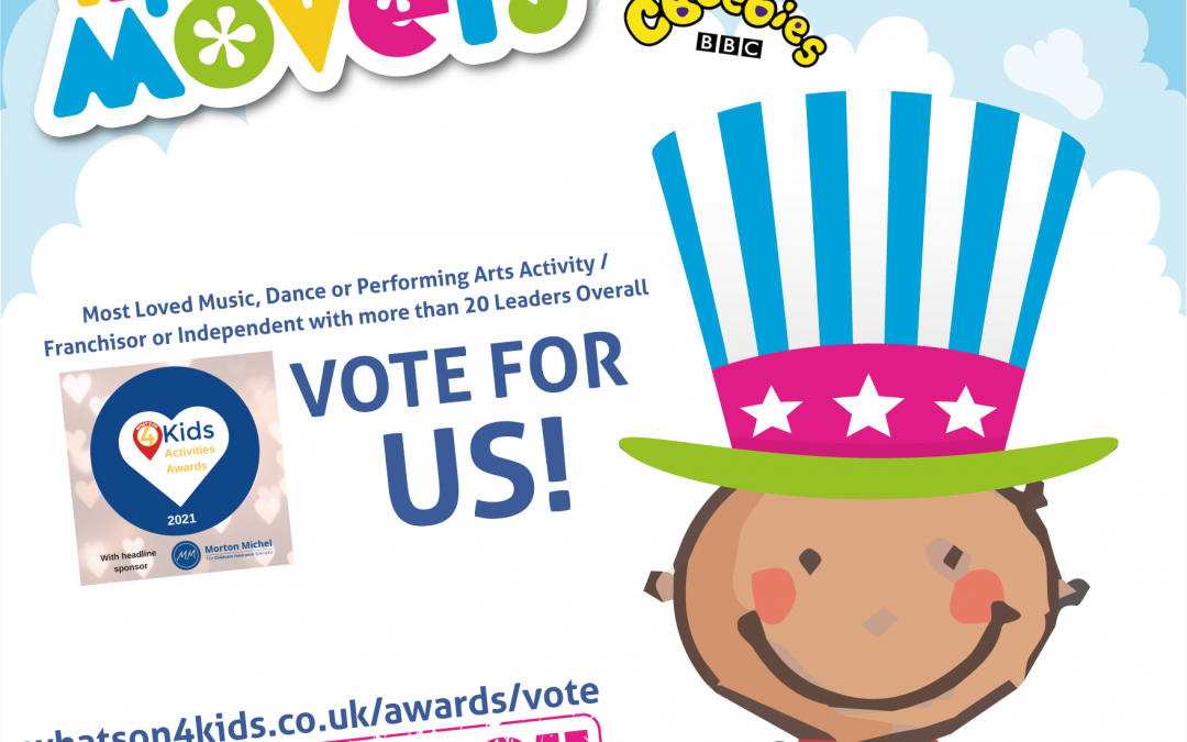 VOTE FOR LITTLE MOVERS!